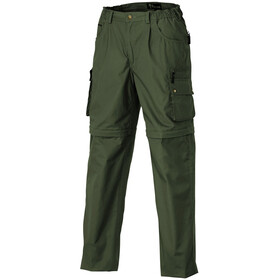 Pinewood Wildmark/Sahara Zip-Off Pants Kids Mid Green